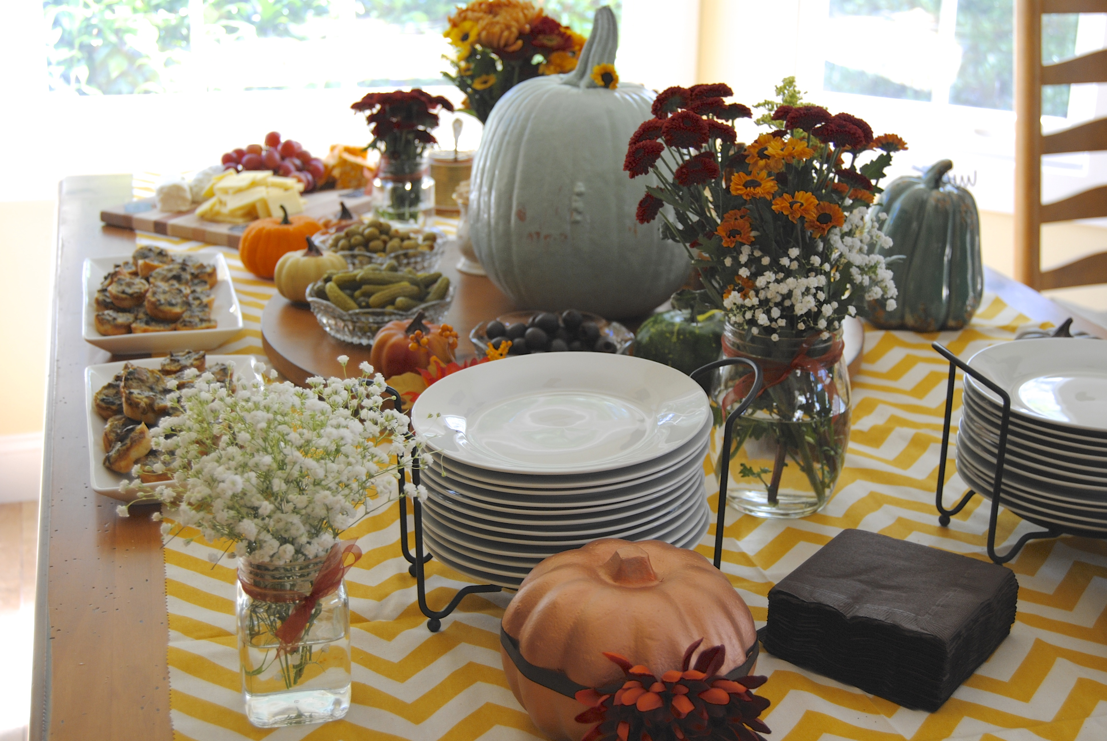 Little Pumpkin Baby Shower Spread