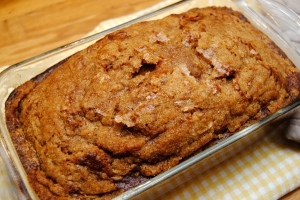 Pumpkin Bread with Tangerine Streusel