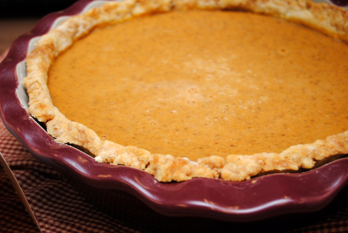 Super Easy Pie Crust (and Pumpkin Pie)