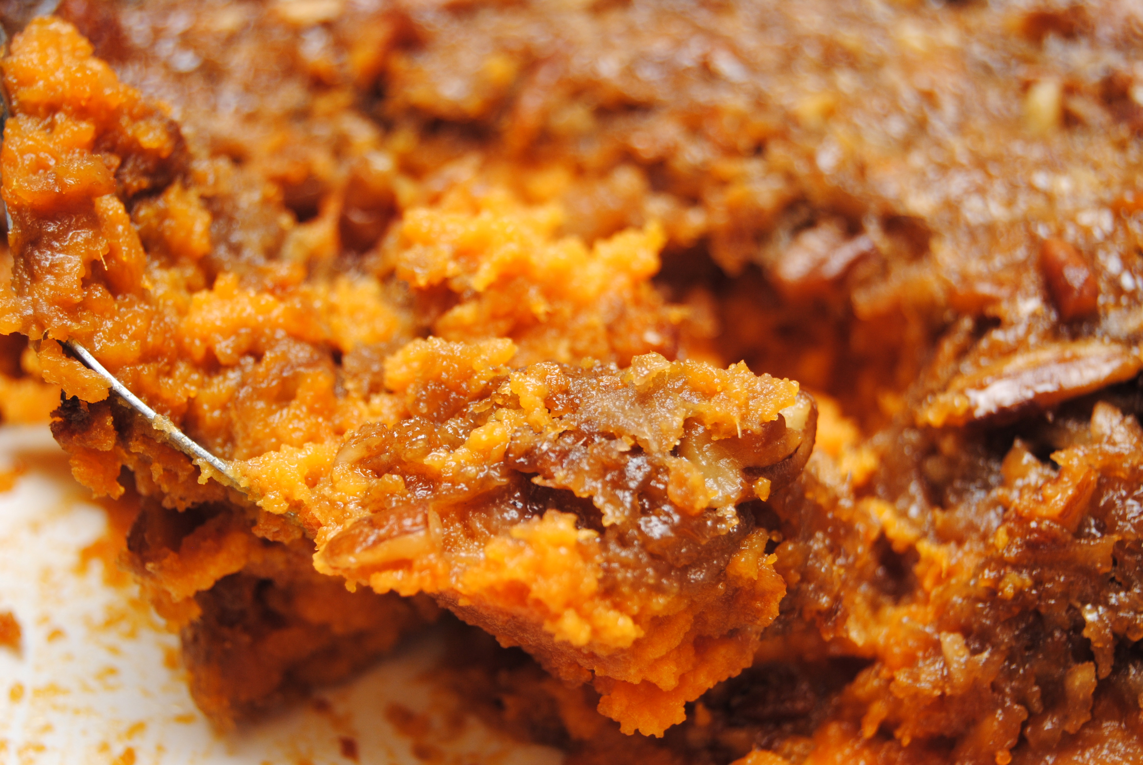 Sweet potato casserole biscuits n crazy