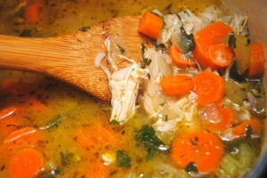 Chicken and Rice Soup with Lemon2