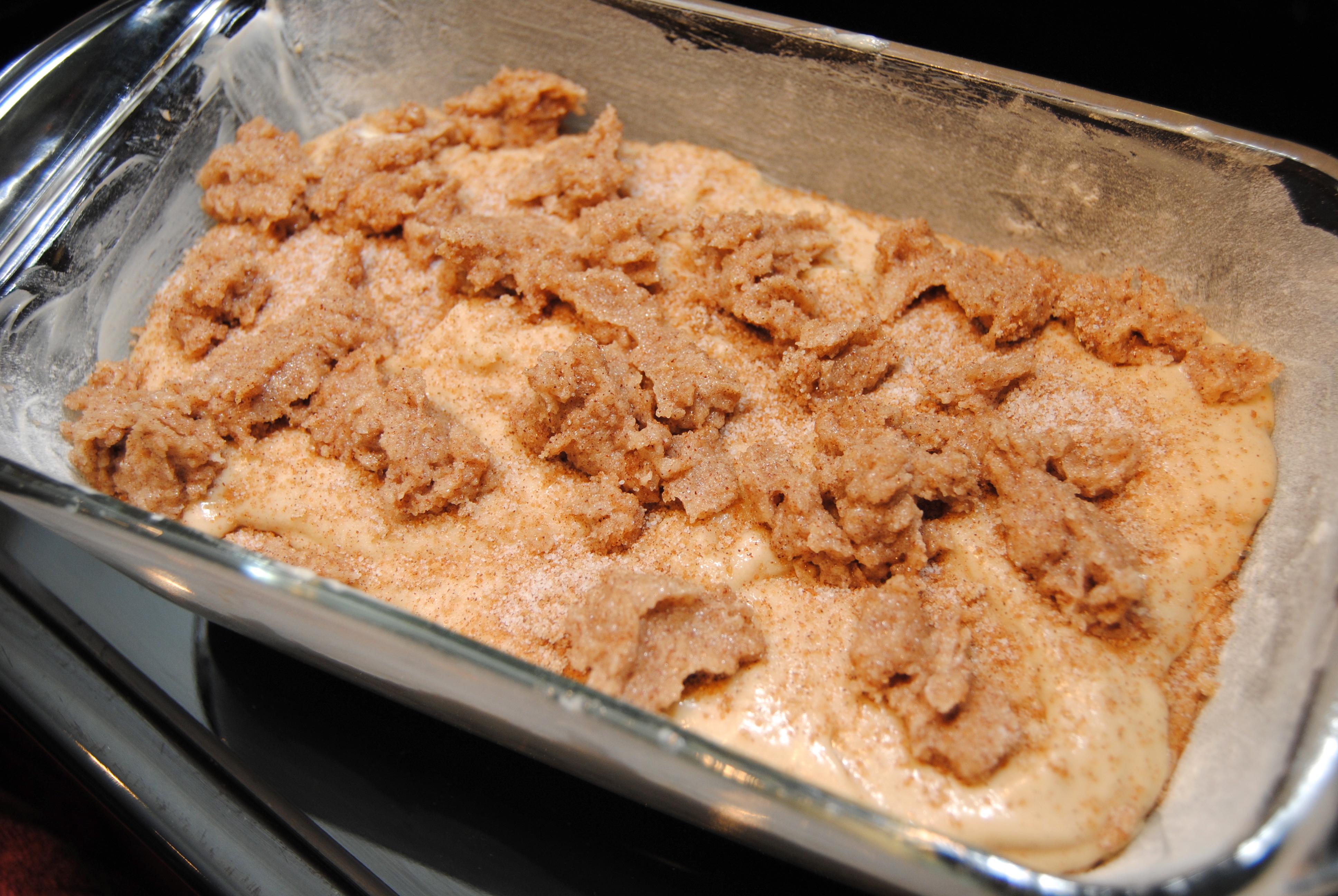 Cinnamon Bread Streusel