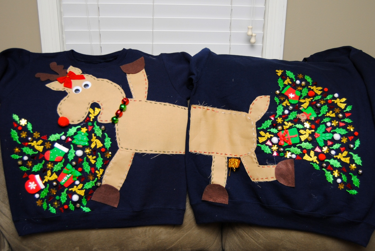 It's Ugly Christmas Sweater Time!