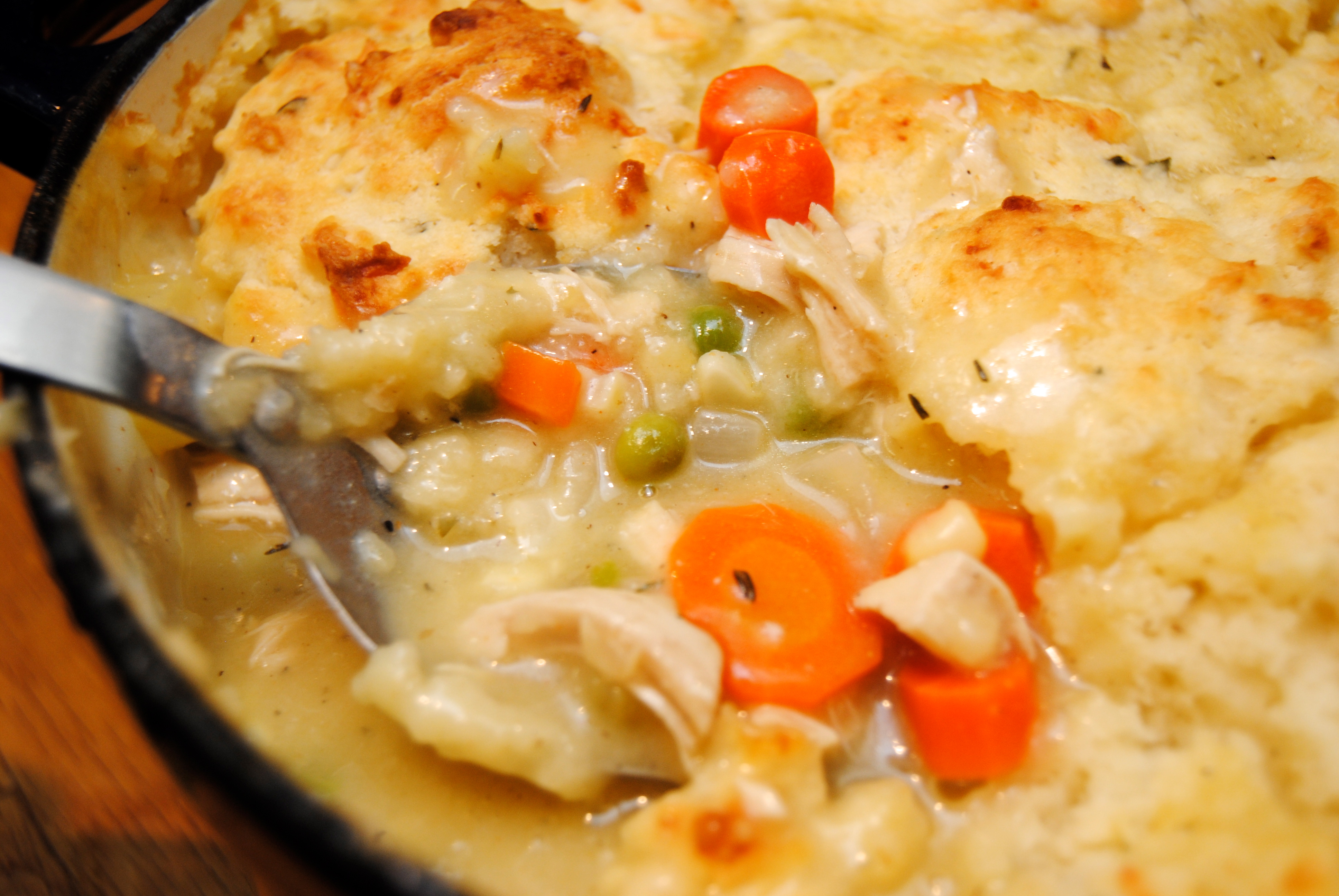 Chicken Pot Pie Recipes Using Biscuits