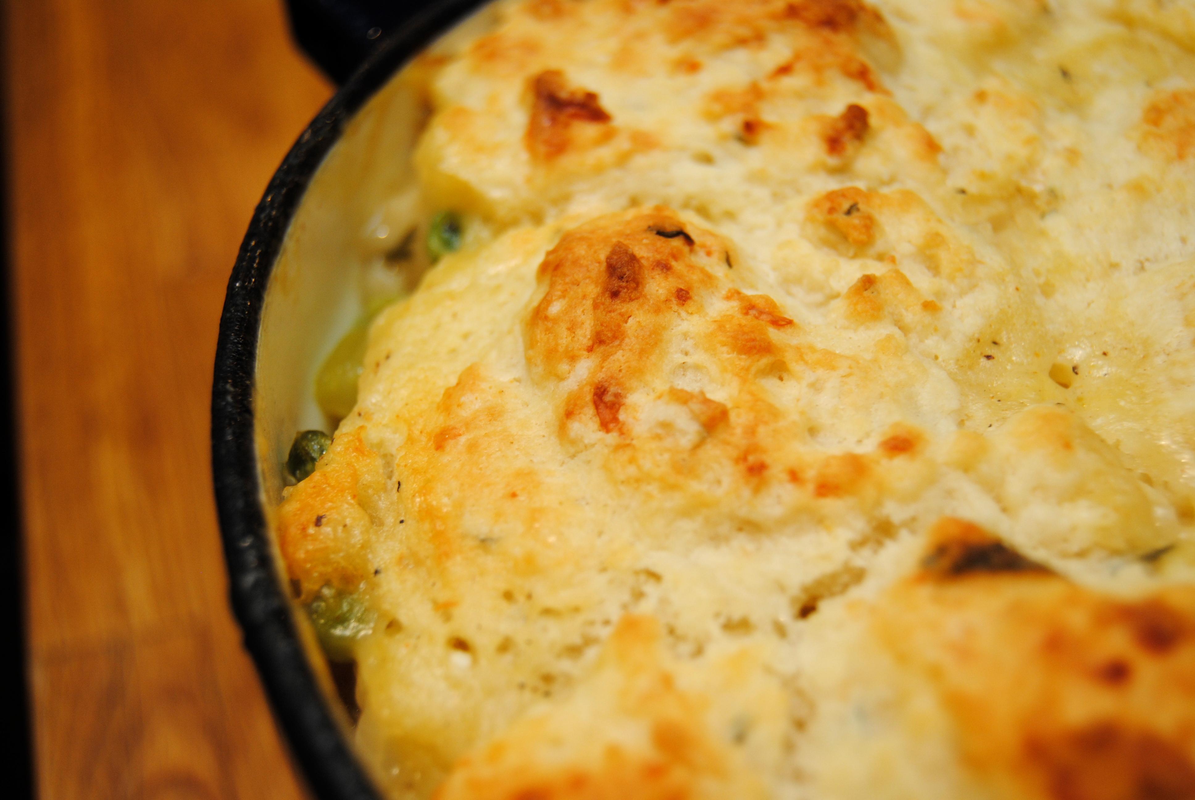 One-Pot Chicken Pot Pie | Biscuits 'n Crazy