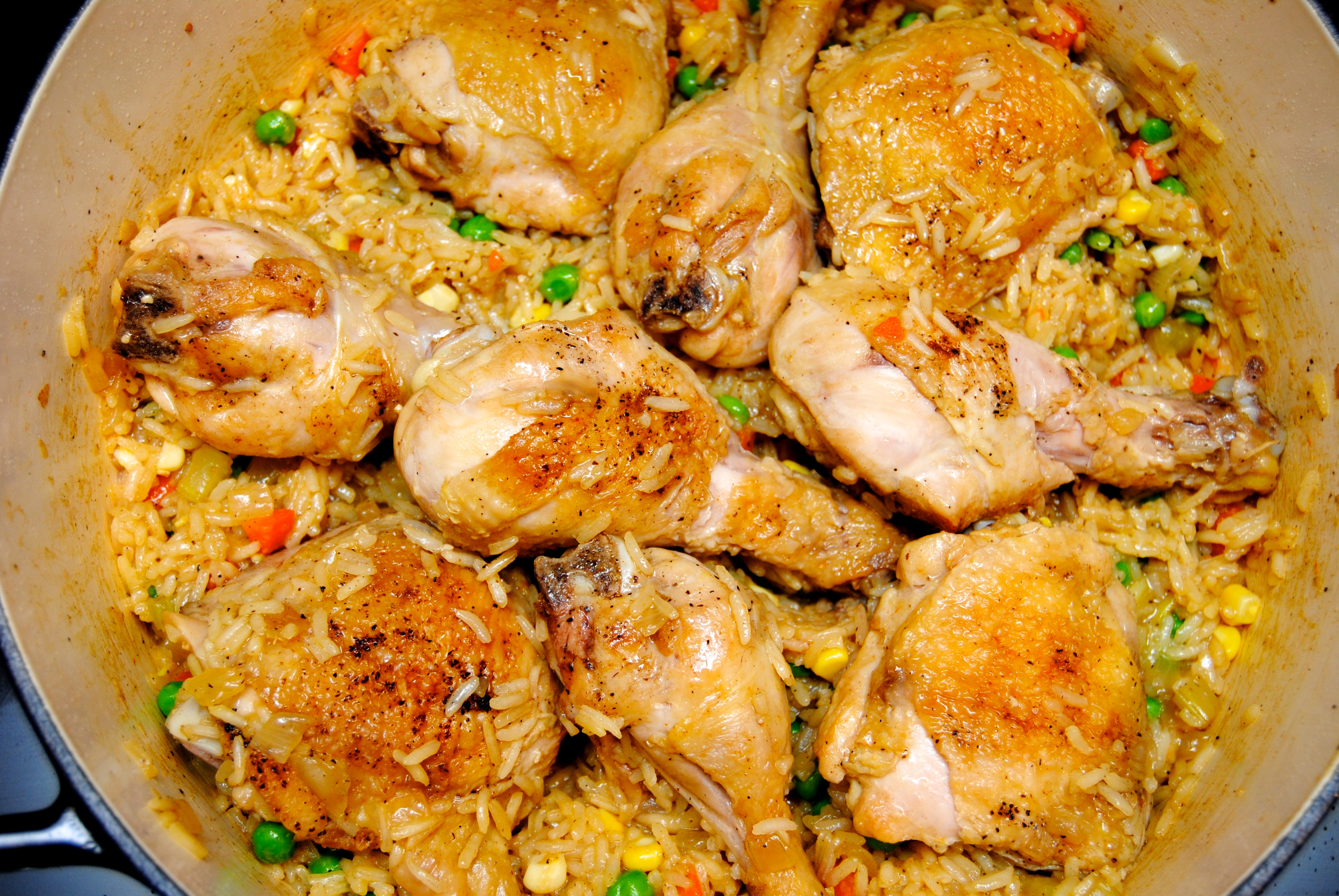 Chicken And Rice Chicken And Yellow Rice