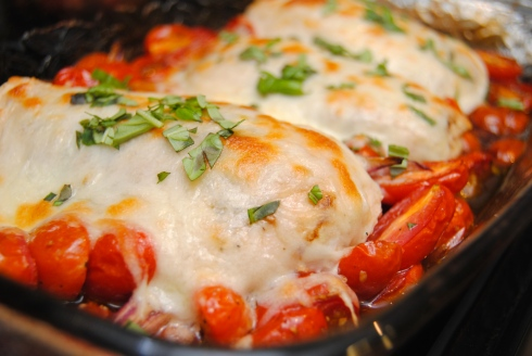 Caprese Chicken Bake4