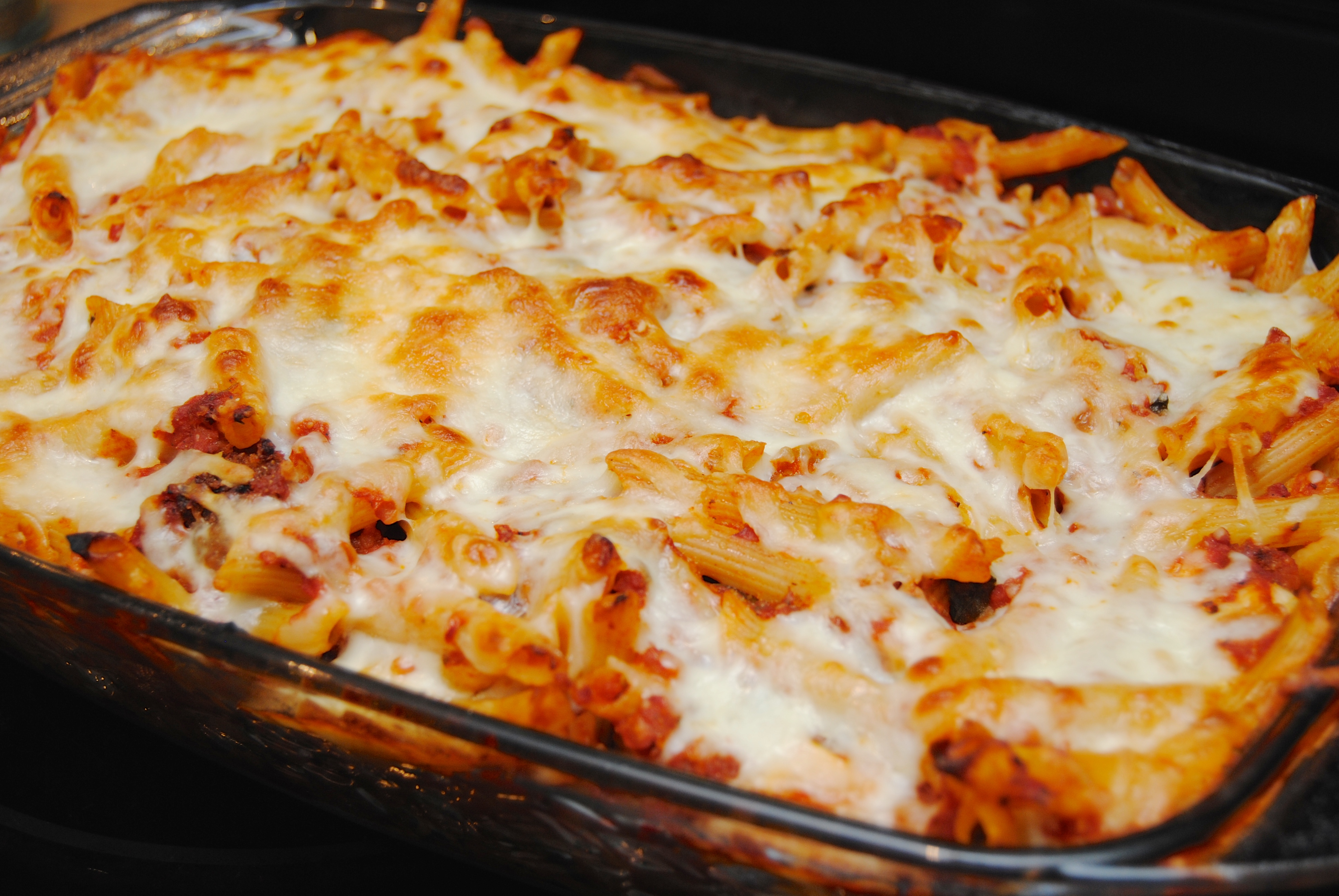 Chicken Parmesan Casserole | Biscuits 'n Crazy