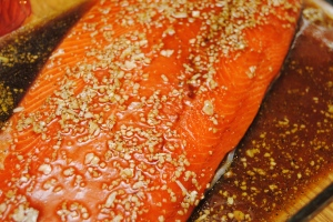Sweet and smokey salmon1
