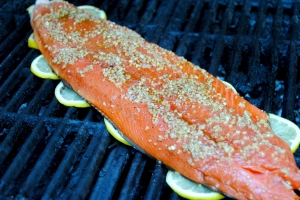 Sweet and smokey salmon2