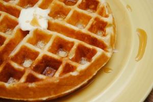 Crispy Belgium Waffles