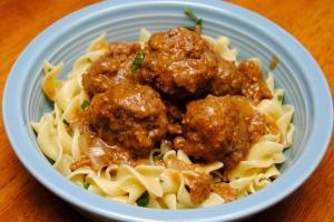 Salisbury Meatballs1